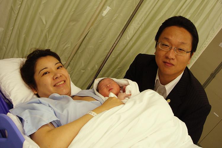 平成23年(31歳)長女を出産